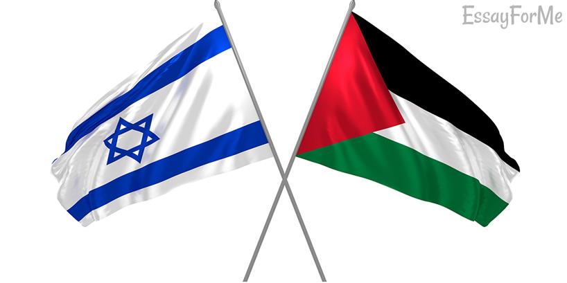 Israeli/Palestine flags