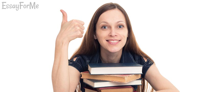 Student Over Book